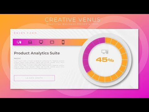 How To Create a Beautiful Doughnut Chart Based KPI Report in Microsoft Office 365 PowerPoint PPT