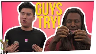 More Guys Try Girls Products Ft. Josh and Byron
