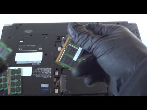 Toshiba Tecra W50 Upgrade SSD Drive Memory