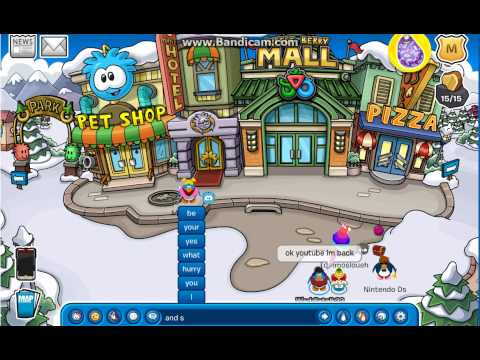 Club penguin tutorial:how to find the golden puffle faster