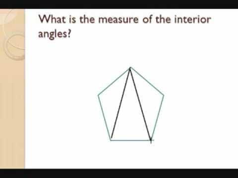 Diagonals and Interior Angles