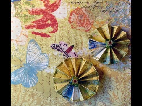 How To Make a Simple Paper Rosette
