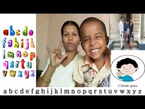 Bangalore-ISL:LDS Deaf Parents-Teaching sign language Hearing Children