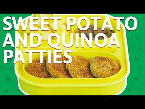 Quinoa Potato Patties Recipes - How To Make Quinoa Tikki - Tiffin Recipe For Kids