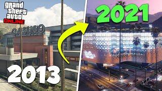 Old GTA Online vs Current GTA Online - 2013 vs 2021