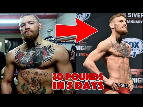 How MMA Fighters Lose 30 Pounds in 5 Days - How to Cut Weight FAST
