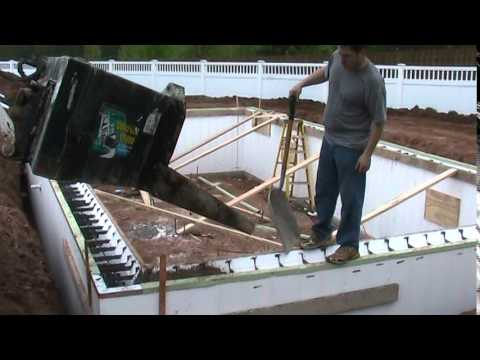 Build an In-Ground Swimming Pool with Insulated Concrete Forms - TF Systems ThermoForm