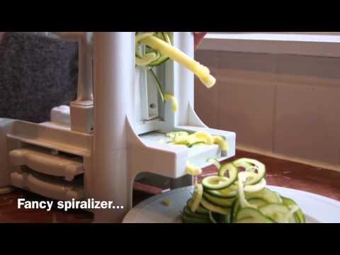 Meal in a Minute: Spiralized Zucchini