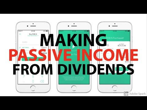 HOW TO  GENERATE PASSIVE INCOME WITH STOCKS: Dividends and Reinvesting