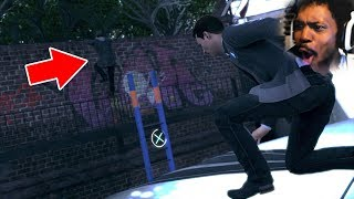OMGOSH.. BEST CHASE SCENE IN THE GAME | Detroit: Become Human (Part 5)
