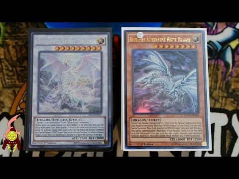 *YUGIOH* BEST! BLUE-EYES DECK PROFILE! Ft. ALTERNATIVE DRAGON!! NEW AUGUST 29th, 2016 BANLIST!
