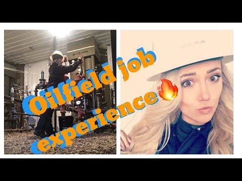 My oilfield job experience