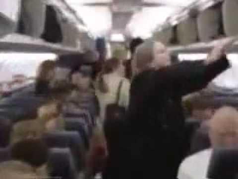 World's Coolest Flight Attendant