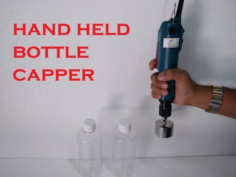 HAND HELD ELECTRIC CAPPER, low cost bottle  capping machine