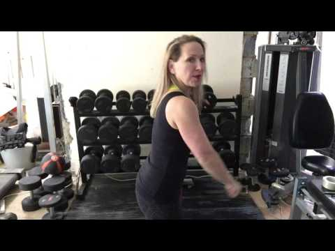 Shoulder week!Dumbell deltoid triset  Build muscle  mass in shoulders