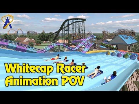 Whitecap Racer Animatic POV - Opening 2018 at Hersheypark