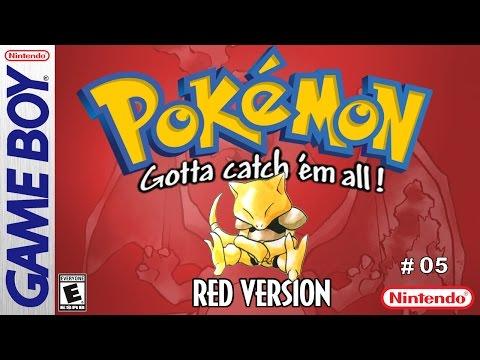 Pokemon Red  #05: Nugget Bridge and Abra!