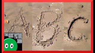 Sand Alphabet - Beach ABC