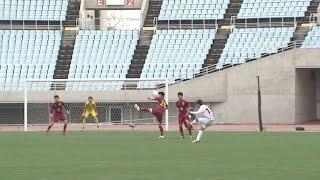 【ゴール動画】東福岡高校 MF 木橋朋輝選手の30メートル直接フリーキック!