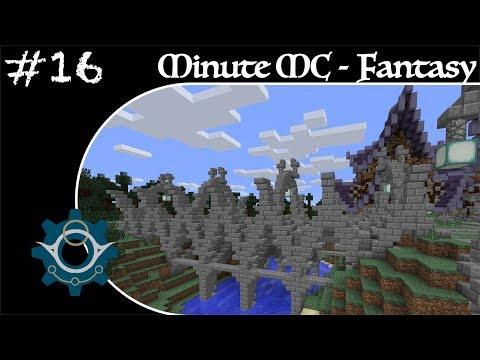 Minute Minecraft - Time Lapse - Fantasy Village - Ep.16