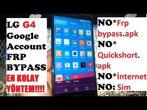 Sprint LG G4 Google Lock Bypass