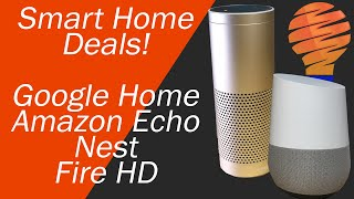 Amazon Prime Day 2018 - Smart Home Automation Deals of the Week - Echo, Google Home, Nest