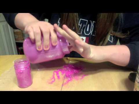 Glitter Mod Podge DIY