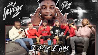 21 Savage - I Am Greater Than I Was FULL ALBUM REACTION/REVIEW