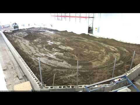SDRC Raceway Build Timelapse