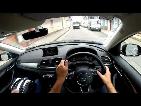 Audi Q3. Driving from Old Market Place to Blackpool, Cork
