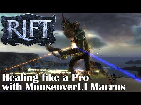 Rift Healing like a pro with MouseoverUI macros