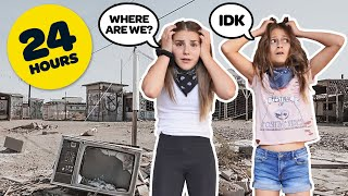 Surviving 24 HOURS OVERNIGHT in an ABANDONED City MrBeast CHALLENGE *GONE WRONG* 💔 | Piper Rockelle