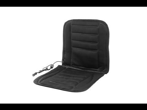 Universal 12V Car Heated Seat Cushion Hot Cover Mat Winter Heating Warmer - UNBOXING