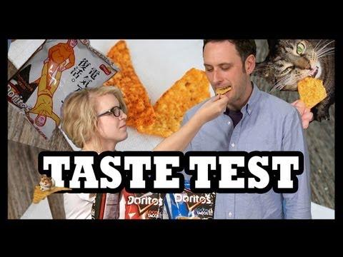 Doritos Locos Tacos Doritos Chip-ception ft. Tay Zonday! - Food Feeder
