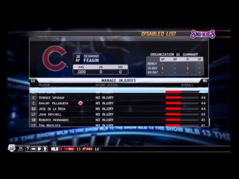 MLB 13: The Show - How To Stop A Player Trade for RTTS - Tutorial