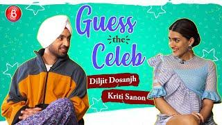 Guess The Celeb: Diljit Dosanjh & Kriti Sanon's Funny Antics Will Melt Your Heart