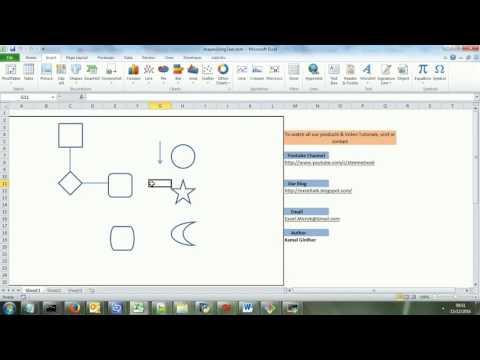 Insert/Delete Shapes automatically using keywords | Excel VBA