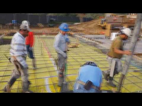 How to pour footings and slabs monolithically