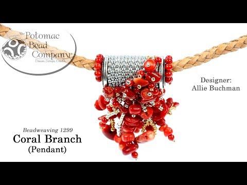Coral Branch Pendant