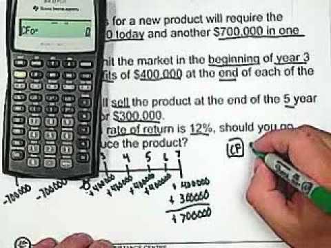 18. Cash Flow - Net Present Value