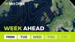 Download Week Ahead - Weather warnings in force for heavy rain. Video