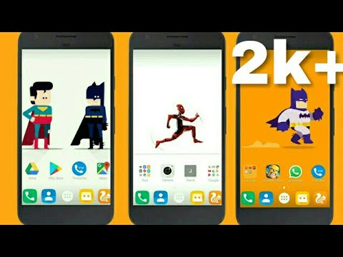 Cool live wallpaper | GIF live wallpaper | cool Super Heroes live wallpaper