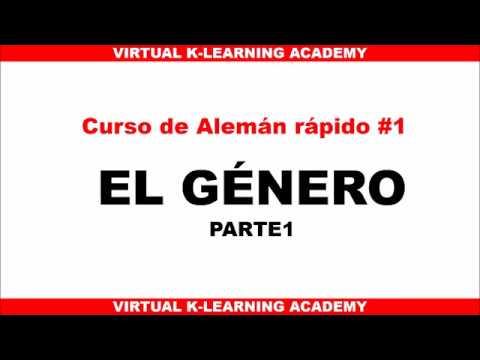 CURSO DE ALEMAN RAPIDO 1 - GENERO 1 / CLASES DE ALEMAN