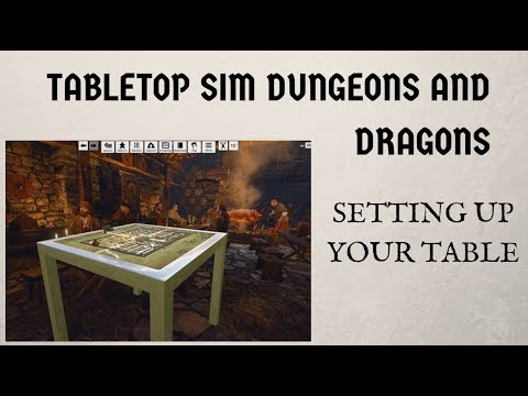 Tabletop Simulator DnD - Ep. 2 - Setting Up Your Table