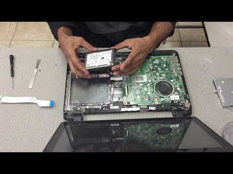HP Pavilion 15 / HP Pavilion 15 Touchsmart Notebook - Hard Drive Removal/Installation