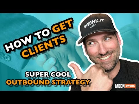 SUPER COOL DIGITAL AGENCY OUTBOUND SALES STRATEGY | HOW TO GET CLIENTS