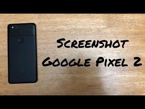 How to Screenshot Google Pixel 2/2XL