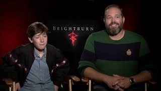 """Actors Jackson A. Dunn & David Denman from """"BrightBurn"""""""