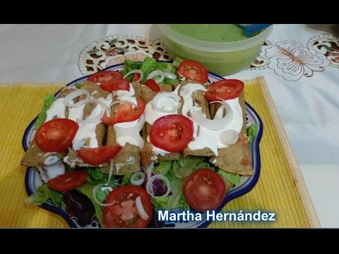 Tacos Dorados de Papa y Queso