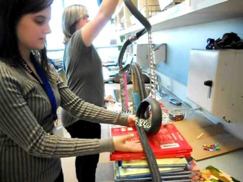 Making A Foam Pipe Roller Coaster